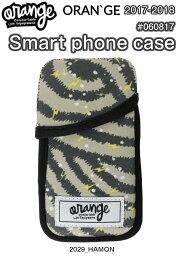 能收藏ORANGE柳丁#060817 Smart phone case 2029 HAMON智慧型手機情况5英寸顯示器雪商品2018型號正規的物品