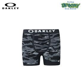 OAKLEY オークリー O-FIT BOXER SHORTS 4.0 99497JP-00G Black Print テクニカル アンダーウエア 吸汗 速乾 3D立体成型 4WAYストレット ロゴ 正規品