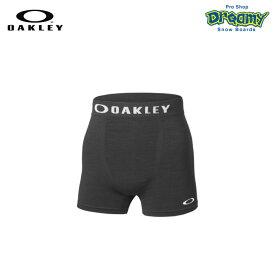 OAKLEY オークリー O-FIT BOXER SHORTS 4.0 99497JP-02E Blackout テクニカル アンダーウエア 吸汗 速乾 3D立体成型 4WAYストレット ロゴ 正規品
