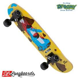 "DB ディービー LONGBOARD Mendez Dragon 27.75"" Mini Cruiser Complete スケートボード ロングボード ロンスケ 27.75インチ"