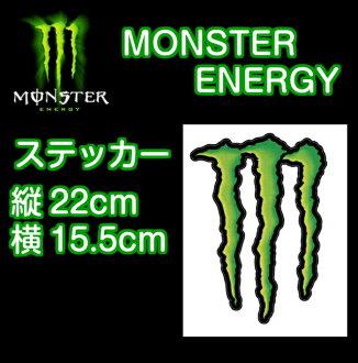 怪物能源怪物能源贴真正 22 x 15.5 厘米