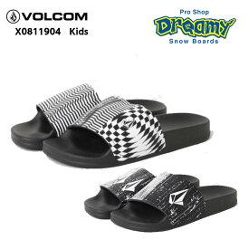 VOLCOM ボルコム キッズ X0811904 Dont Trip BY Slide 子供用 サンダル ビーチサンダル