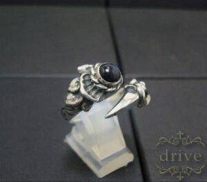 送料無料 【drive シルバーアクセサリー】 ドライヴ dr-037spe マンドラゴラ 爪 クロー パワーストーンリング メンズ silver925 シルバー925 シルバーアクセ フリーサイズ スペクトロライト