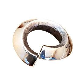 【線径3.0mm内径6.5mm】svp-18 シルバー925 刻印無し 山切り丸カン 1個売り パーツ メンズ silver925 スターリングシルバー シルバーパーツ silver925 ハンドメイド マルカン バラ売り リング 輪っか 部品 手作り 純銀