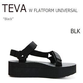 テバ サンダル TEVA レディース FLATFORM UNIVERSAL フラットフォーム ユニバーサル BLACK ブラック スポサン 1008844-BLK シューズ