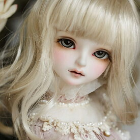 【Myou Doll-DOLL】Delia 即納ドール(Pink skin)(Girl Body-1 Three-parts body)