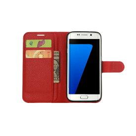 Galaxy S7 edge ケースカバーカラフル手帳型PUレザーケースカバー for GalaxyS7 edge SC-02H SCV33 ギャラクシー s7 エッジ