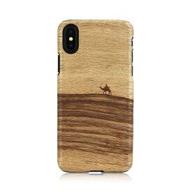 iPhone XS Max ケース 天然木 Man&Wood Terra(マンアンドウッド テラ)アイフォン カバー 木製 お取り寄せ