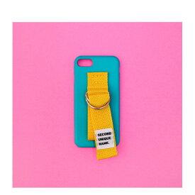 お取り寄せ iPhone XS ケース iPhone XR ケース iPhone 8 ケース 韓国 ベルト ケース iPhone XS MAX iPhone X iPhone 7 iPhone 8 Plus iPhone 6s iPhone SE SECOND UNIQUE NAME SKYBLUE YELLOW ベルト ケース カバー アイフォン メーカー正規商品 セカンドユニークネーム
