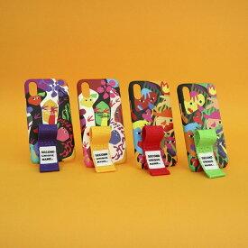 iPhone XS ケース iPhone XR ケース iPhone 8 ケース 韓国 ベルト ケース iPhone XS MAX iPhone X iPhone 7 iPhone 8 Plus iPhone 6s SECOND UNIQUE NAME GRAPHIC HUMAN FRUIT FINGER ベルト ケース カバー アイフォン メーカー正規商品 セカンドユニークネーム お取り寄せ
