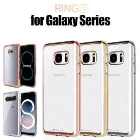 GALAXY S9 ケース Galaxy S8 ケース Galaxy S9+ ケース Galaxy NOTE8 ケース Galaxy S7edge ケース Galaxy S9+ Galaxy S8+ バンパー Galaxy S6edge Mercury Ring 2 耐衝撃 TPU 背面 スマホケース