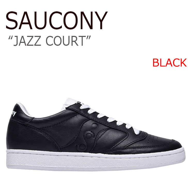 サッカニー スニーカー Saucony メンズ JAZZ COURT ジャズコート BLACK ブラック S70373-2 シューズ