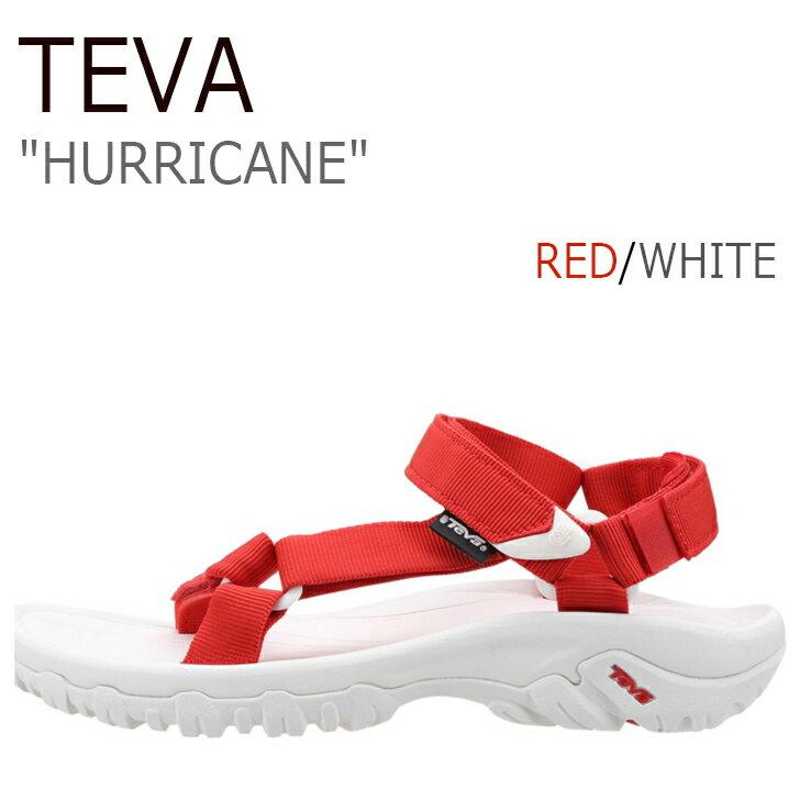 送料無料 テバ ハリケーン サンダル Teva メンズ レディース HURRICANE XLT Red White レッド ホワイト 4156 4176 シューズ