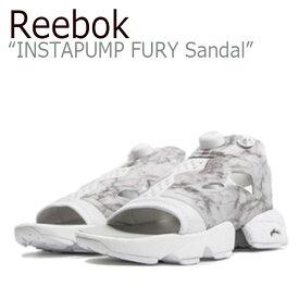 Reebok INSTAPUMP FURY Sandal / Steel/White【リーボック】【ポンプフューリー】【V69440】 シューズ