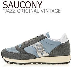 サッカニー ジャズオリジナル スニーカー SAUCONY メンズ レディース JAZZ ORIGINAL VINTAGE ジャズ オリジナル ヴィンテージ GREY グレー S60368-39 シューズ