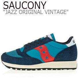 サッカニー ジャズオリジナル スニーカー SAUCONY メンズ JAZZ ORIGINAL VINTAGE ジャズ オリジナル ヴィンテージ NAVY ネイビー S70321-5 シューズ