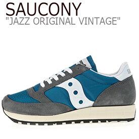 サッカニー ジャズオリジナル スニーカー SAUCONY メンズ JAZZ ORIGINAL VINTAGE ジャズヴィンテージ BLUE ブルー S70368-20 シューズ