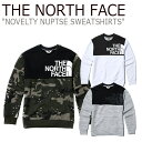 ノースフェイス スウェット THE NORTH FACE メンズ レディース NOVELTY NUPTSE SWEATSHIRTS ノベルティー ヌプシ スエ…