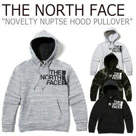 ノースフェイス パーカー THE NORTH FACE メンズ レディース NOVELTY NUPTSE HOOD PULLOVER ノベルティー ヌプシ フード プルオーバー 全4色 NM5PJ50J/K/L/M ウェア 【中古】未使用品