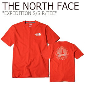 ノースフェイス Tシャツ THE NORTH FACE メンズ EXPEDITION S/S R/TEE エクスペディション ショートスリーブ ラウンドT 半袖 アンタークティカ NT7UK00C ウェア 【中古】未使用品
