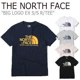 ノースフェイス Tシャツ THE NORTH FACE メンズ レディース BIG LOGO EX S/S R/TEE ビッグロゴ EX ショートスリーブ ラウンドT 半袖 NT7UK24J/K/L/M/N 全5色 ウェア 【中古】未使用品