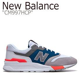 ニューバランス 997 スニーカー New Balance メンズ レディース New Balance 997 ニューバランス997 WHITE ホワイト CM997HCP NBPD9S425W シューズ 【中古】未使用品