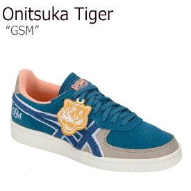 オニツカタイガー スニーカー Onitsuka Tiger レディース GSM ジーエスエム DEEP SAPPHIRE ディ—プ サファイア 1182A020-400 シューズ