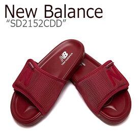 ニューバランス サンダル New Balance メンズ レディース SD2152CDD BURGUNDY バーガンディー NBRJ9S420D シューズ 【中古】未使用品