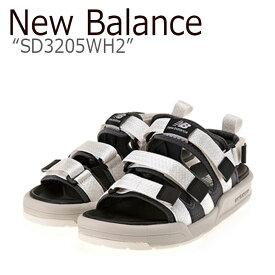 ニューバランス サンダル New Balance メンズ レディース SD 3205 WH2 WHITE ホワイト SD3205WH2 シューズ 【中古】未使用品