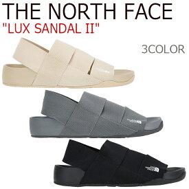 ノースフェイス サンダル THE NORTH FACE メンズ レディース LUX SANDAL II ラックス サンダル 2 BIEGE OXFORDTAN BLACK ベージュ オックスフォードタン ブラック NS98J05 NS98K05B シューズ 【中古】未使用品