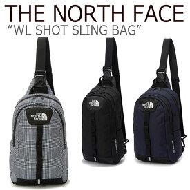 ノースフェイス ボディバッグ THE NORTH FACE メンズ レディース WL SHOT SLING BAG ショット スリング バック GRAY BLACK NAVY グレー ブラック ネイビー NN2PK52J/K/L バッグ 【中古】未使用品