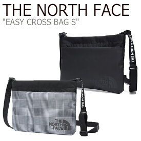 ノースフェイス サコッシュ THE NORTH FACE メンズ レディース EASY CROSS BAG S イージークロスバッグS GRAY BLACK グレー ブラック NN2PK60J/K バッグ 【中古】未使用品