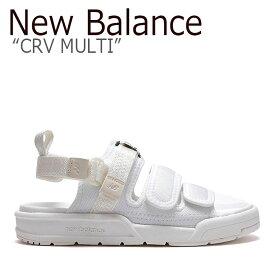 ニューバランス サンダル New Balance メンズ レディース CRV MULTI SD 3205 ECC WHITE ホワイト SD3205ECC シューズ 【中古】未使用品