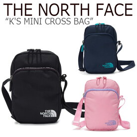 ノースフェイス ボディーバッグ THE NORTH FACE キッズ K'S MINI CROSS BAG ミニクロスバッグ NAVY BLACK PINK ネイビー ブラック ピンク NN2PK52R/S/T バッグ 【中古】未使用品