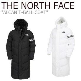 ノースフェイス ロングコート THE NORTH FACE メンズ レディース ALCAN T-BALL COAT アルカン ティーボール コート BLACK ブラック WHITE ホワイト NC3NK50J/K ウェア 【中古】未使用品