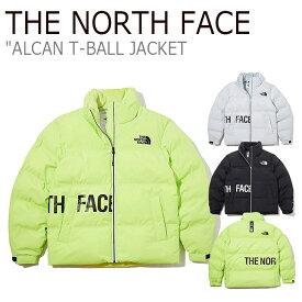 ノースフェイス ジャケット THE NORTH FACE メンズ レディース ALCAN T-BALL JACKET アルカン ティーボール ジャケット COOL GRAY NEON YELLOW BLACK クールグレー ネオンイエロー ブラック NJ3NK54J/K/L ウェア 【中古】未使用品
