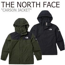 ノースフェイス マウンテンジャケット THE NORTH FACE メンズ レディース CARSON JACKET カーソン ジャケット BLACK ブラック KHAKI カーキ NJ4HK51J/K ウェア 【中古】未使用品