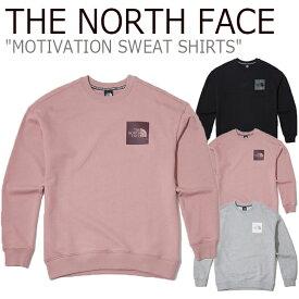 ノースフェイス トレーナー THE NORTH FACE メンズ レディース MOTIVATION SWEAT SHIRTS モチベーション スウェットシャツ 全3色 NM5MK51A/B/C ウェア 【中古】未使用品