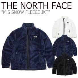 ノースフェイス フリース THE NORTH FACE メンズ M'S SNOW FLEECE JKT スノー フリースジャケット IVORY アイボリー NAVY ネイビー BLACK ブラック NN4FK51A/B/C ウェア 【中古】未使用品