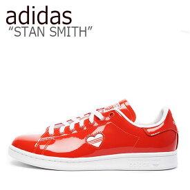 アディダス スタンスミス スニーカー adidas メンズ レディース STAN SMITH W スタン スミス W RED レッド G28136 シューズ 【中古】未使用品