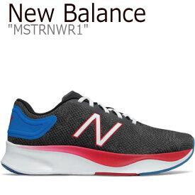 ニューバランス スニーカー New Balance メンズ レディース BLACK ブラック MSTRNWR1 シューズ 【中古】未使用品