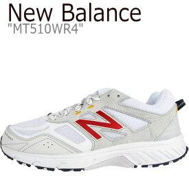 ニューバランス 510 スニーカー NEW BALANCE メンズ レディース new balance 510 ニューバランス510 WHITE ホワイト MT510WR4 FLNB9S2U51 シューズ 【中古】未使用品