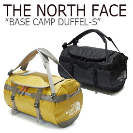 ノースフェイス ボストンバッグ THE NORTH FACE BASE CAMP DUFFEL-S ベースキャンプ ダッフルS 42リットル BROWN BLACK ブラウン ブラック NN2FK61J/K バッグ 【中古】未使用品