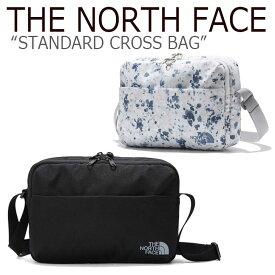 ノースフェイス クロスバッグ THE NORTH FACE メンズ レディース STANDARD CROSS BAG スタンドクロスバッグ BLACK MISTY BLUE ブラック ミスティーブルー NN2PK50A/C バッグ 【中古】未使用品
