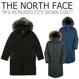 ノースフェイス ダウン THE NORTH FACE メンズ M'S MCMURDO CITY DOWN COAT マクマード シティ ダウンコート 全3色 NC1DJ53A/B/C ウェア 【中古】未使用品