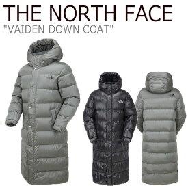 ノースフェイス ダウン THE NORTH FACE メンズ レディース VAIDEN DOWN COAT ヴァイデン ダウンコート BLACK ブラック SILVER シルバー NC1DK52J/K ウェア 【中古】未使用品