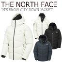 ノースフェイス ダウン THE NORTH FACE メンズ M'S SNOW CITY DOWN JACKET スノー シティ ダウンジャケット BLACK ブ…