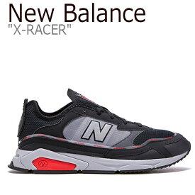 ニューバランス スニーカー New Balance メンズ レディース X-RACER X-レーサー BLACK ブラック MSXRCHTW FLNB9F4U09 NBPD9B012B シューズ 【中古】未使用品