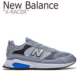 ニューバランス スニーカー New Balance メンズ レディース X-RACER X-レー 【中古】未使用品サー GRAY グレー MSXRCHTT FLNB9F4U08 NBPD9F012G シューズ