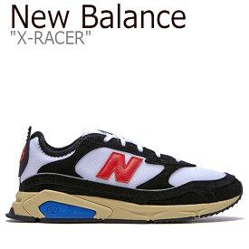 ニューバランス スニーカー New Balance メンズ レディース X-RACER X-レーサー BLACK ブラック MSXRCSLG FLNB9F3U43 NBPD9B751B シューズ 【中古】未使用品